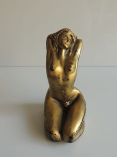 Sculpture; Anne Podevyne - Femme nue: Obsessions series - 2011