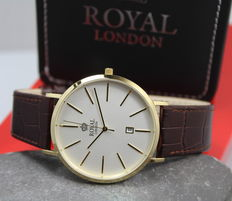 Royal London – Men's Gold Plated Dress- Watch – unworn
