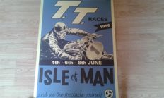 Nostagische Poster - T.T.Races June 1956 - Isle of Man