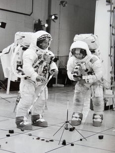 Unknown/NASA - Apollo 12 training - 1969