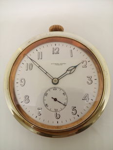 Pocket watch made by Cyma, retailed by Audemars Frères Geneve - 1920