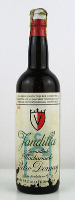 NV Jerez Amontillado Jandilla Pedro Domecq - 1 bottle 1960's