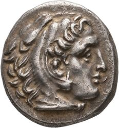 Greek Antiquity - Kings of Macedon. Alexander III, 336-323 BC. AR Drachm. Sardes mint. Struck 323-319 BC.