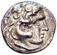 Ancient Greece – Alexander the Great 336-323, AR Drachme Kolophon (?), struck posthumously, circa 301-297 B.C.