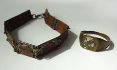 3rd Reich ring bracelet - occupation in Greece