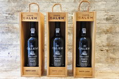 2002 Vintage Port Calem - 3 Bottles in Original wooden cases