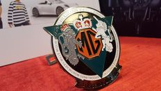 MG enamel grill badge, very rare from the 1980's