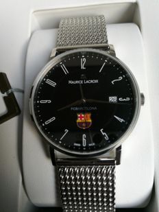 Maurice Lacroix FC Barcelona Special Edition - Wristwatch - 2017, never worn