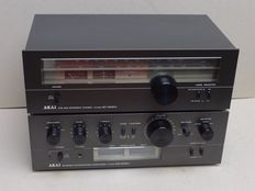 Akai AM 2350 amplifier and AT 2250 Tuner
