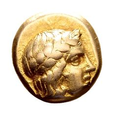 Ancient Greece - Lesbos, Mytilene, Electrum Hekte c. 412-378 BC