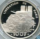 "France 100 francs 1994 (PROOF) ""50th Anniversary of the Liberation of Paris"""