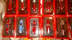 Ferrari Collection - 1/43 Scale - Lot with 13 models: 13 x Ferrari cars