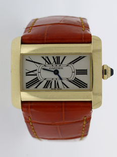 Cartier Tank Divan Ref: 2601 - Ladie's watch