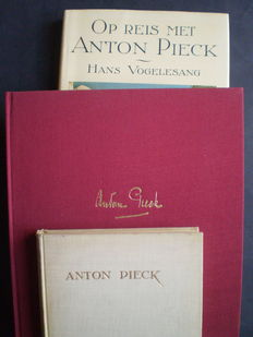 Anton Pieck; Anne Hallema - Anton Pieck catalogue and description of his prints and paintings - 1930