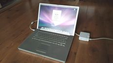 Apple Powerbook G4 - 15''inch, 1.0Ghz, 512MB Ram, 80 GB HD incl. Charger