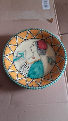 Two Orvieto ceramics decorative plates