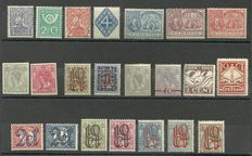 The Netherlands 1922/1928 - Selection of series and stamps