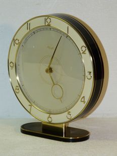 KIENZLE, design by Heinrich Möller - large tabletop clock in the Bauhaus style