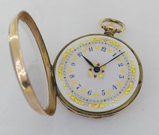9 kt – Anonymous – Pocket watch – Year 1800s (circa)