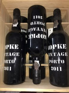 2011 Vintage Port Kopke – 3 bottles (75cl) inclusive OWC
