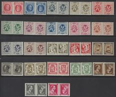OBP numbers KP1 to KP22 – Tête-bêche stamps