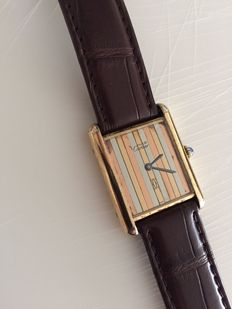 Cartier Tank Vermeil - Ladies watch