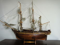 Ship model of the Bounty 1783