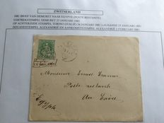 Switzerland - Collection of 110 postal items