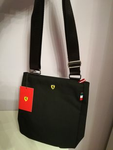 Ferrari black shoulder bag + ceramic mug