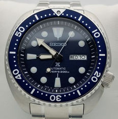 Seiko Automatic Turtle Diver's 200 m 24 jewels Blue – Men's watch – Never worn