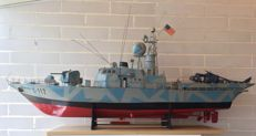 Omega-1.C-112. Warship model. Second half of the 20th century.