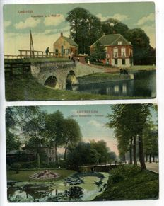 The Dutch province of South-Holland, 1900-1960, views of cities and villages 104 x