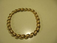 Necklace by Henkel & Grosse: high quality gold-plating - 1963