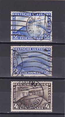 Germany 1919/44 - a selection of Air Post