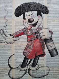 Pablo Fergó - Mickey at the Seville Fair
