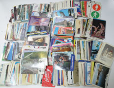 A collection of 1000 Pocket calendars