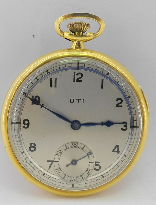 UTI Pocket watch, circa 1900