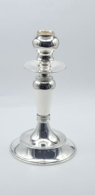 Italian designed sterling silver candlestick   , International hallmarked 925