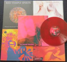 My Bloody Valentine (2x) / Slowdive / Brian Jonestown Massacre / Red Temple Spirits: Great lot of 4LP's + 1 limited 12inch single