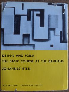 Johannes Itten - Design and Form: The Basic Course at the Bauhaus - 1965