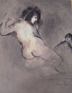 Charles Baudelaire - Oeuvres. Illustrations of Leonor Fini - 4 volumes - 1986