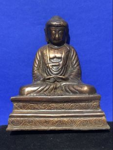 Bronze Buddha - China - 2nd half 20th century
