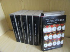 """Lot with six books """"Die Comtoise-Uhr"""""""