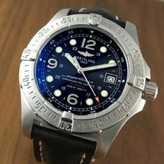 "Breitling — SuperOcean 2000 m ""Steelfish"" automatic Top Conditon Full Set Diver's watch — Hombre — 2011 - actualidad"
