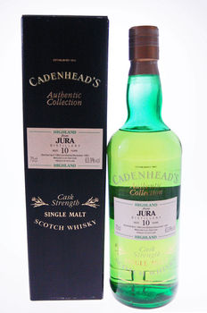 Isle of Jura 10 years old 1983 Cadenhead Authentic Collection