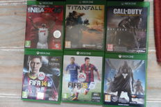 Nice lot of xbox one 6 games