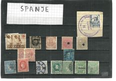 Europe – Collection with various countries on stock sheets.
