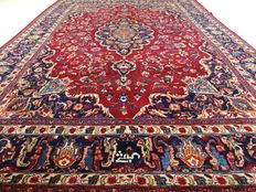 "Signed Meshed – 355 x 254 cm – ""XL Eye-catcher – Persian rug in beautiful condition"""