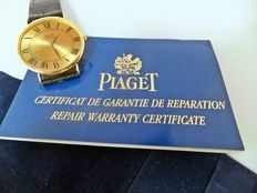 Piaget Gold 18k Oval Ultra Thin Micro-Rotor  - Unisex watch - . Launched in 1960.