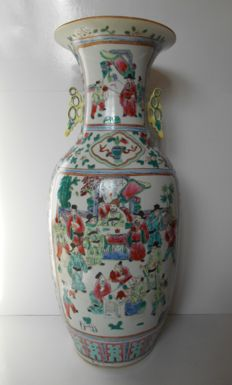 Large baluster vase - China - second half 20th century